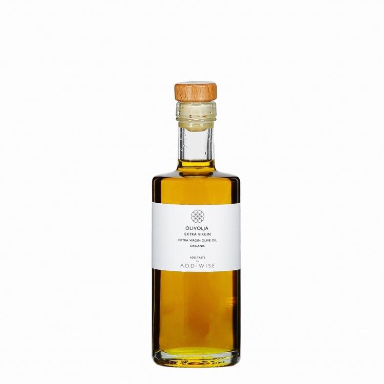 Fantastiskt god olivolja från ADD:WISE, 250ml Ingredienser: Extra virgin olivolja, Ekologisk Råvara Grekland