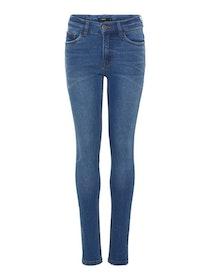 LMTD Pilou Skinny Jeans Mellanblå Denim
