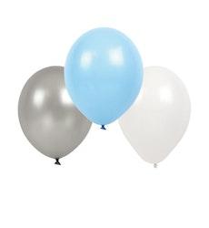 Jabadabado Ljusblå Ballonger  9-pack
