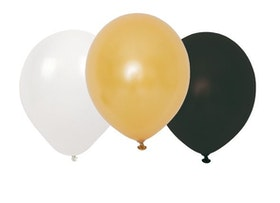 Jabadabado Svart Ballonger 9-pack