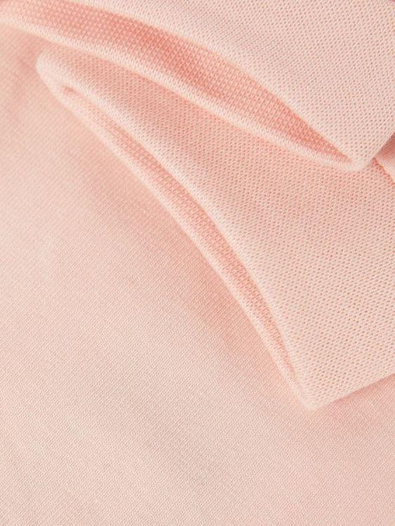 Mjuka & stretchiga byxor i ekologisk bomull från Name it med bred nedvikt ribb i midjan. Material: 95% Ekologisk Bomull & 5% Elastan  Färg: Rosa
