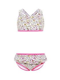 Name it Mini Rosa-Blommig Bikini