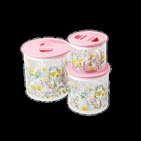 Rice Sockersöta Förvaringsboxar 3 st/set
