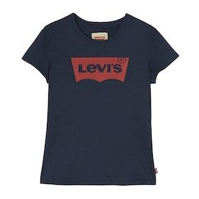 Levi´s Girl Marinblå T-shirt