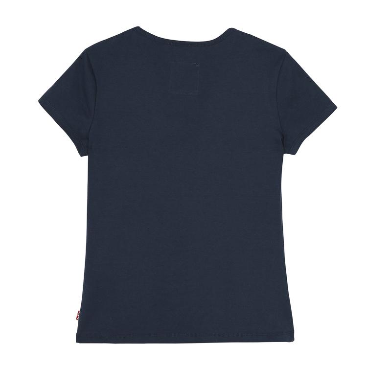 Snygg figursydd T-shirt från Levi´s med rund halsringning och Levi´s logga över bröstet. Material: 100% Bomull  Färg: Marinblå