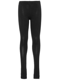 Name it Basic Leggings i Ekologisk Bomull Svart