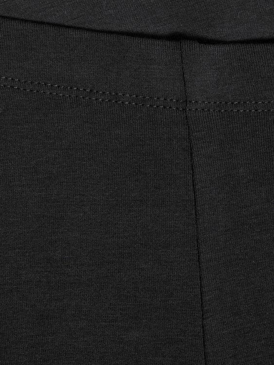 Mjuka leggings i ekologisk bomull från Name it med resår i midjan Material: 95% Ekologisk bomull & 5% Elastan  Färg: Svart  Ekologisk Bomull odlas utan användning av skadliga bekämpningsmedel och kons
