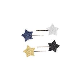 Molo Star Hårklämmor 4-Pack