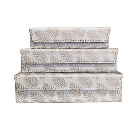 Pipol´s Bazaar Förvaringsboxar Palm Cloud 3/Set