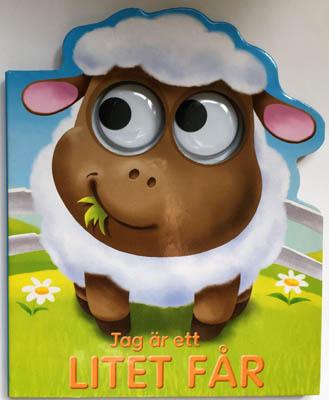"""Jag är en litet Får är en söt pekbok & fårets stora snälla ögon följer glatt barnen när de läser om honom. """"Jag är ett litet får som älskar livet i hagen där jag går!"""""""