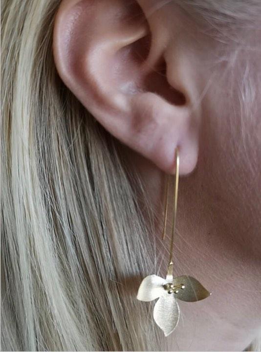 Unika handgjorda smycken från Pold Design i 925 Sterling silver förgylld med 18 Karats guld.
