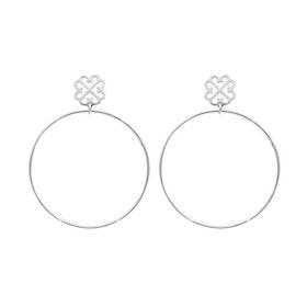 Pipol´s Bazaar Hoopy Öronringar Silver