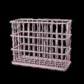 Rice Trådkorg i Metall Rosa