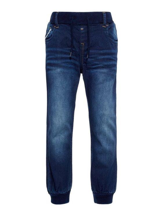 Name it Bob Mini Baggy Jeans Mörkblå Denim