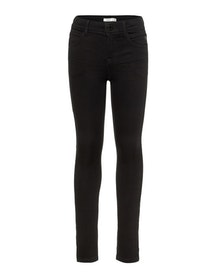 Name it Kids Polly Svart Skinny Jeans i Ekologisk Bomull