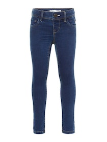 Name it Mini Polly Mellanblå Skinny Jeans i Ekologisk Bomull