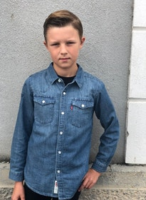 Levi´s Jeansskjorta Blå Denim
