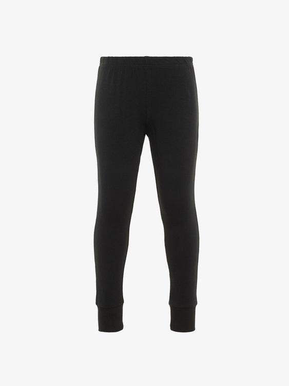 Cool pyjamas med långa ärmar och ben i ekologisk bomull från Name it med självlysande tigertryck på överdelen. Byxan har en resår i midjan samt en bred mudd i bensluten. Material: 95% Ekologisk Bomull
