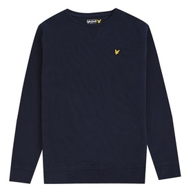 Lyle & Scott Crew Neck Sweatshirt - Marinblå