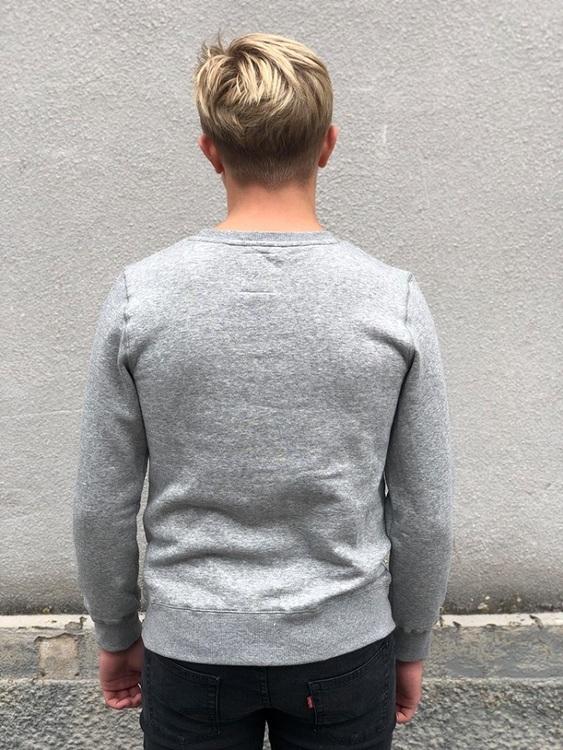 Snygg sweatshirt från Levi´s med rund hals, Levi´s loggan på bröstet och mjuk borstad insida. Material: 65% Bomull och 35% Polyester  Färg: Gråmelange