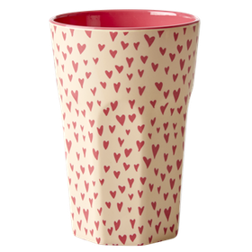 Rice Lattemugg Small Heart print