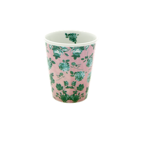 Rice Porslinmugg  Rose Print