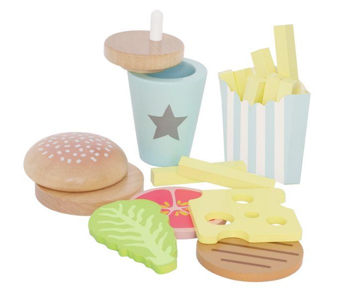 En hamburgare är väl aldrig fel? Vill du ha hela mealet med pommes och dricka till? Äter du här eller tar du med?   Ett komplett Hamburger Meal  från Jabadabado med extra allt!  Detta ingår i ditt mea