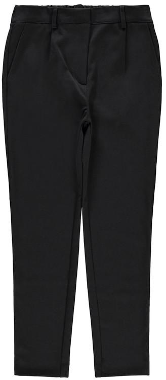 Snygg finbyxa från LMTD med justerbar midja, fickor i sidorna och bälteshällor. Material: 62% Polyester, 33% Viskos, 5% Elastan  Färg: Svart