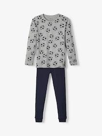 Name it Mini 2-Delad Pyjamas Med Fotbollstyck