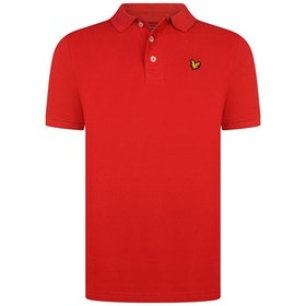 Lyle & Scott Classic Polo Shirt Röd