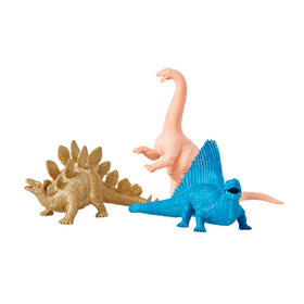 Rice Leksaksdjur Dinosaurie 3 Färger