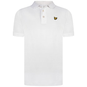 Lyle & Scott Classic Polo Shirt Vit