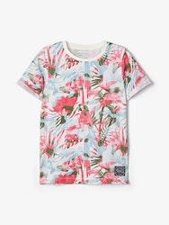 Name it Kids Mönstrad T-shirt i Ekologisk Bomull