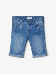 Name it Kids Trappe Jeansshorts Ljusblå Denim