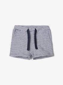 Name it Baby Shorts i Ekologisk Bomull Marinblå
