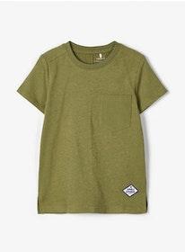 Name it Mini T-shirt i Ekologisk Bomull Grön