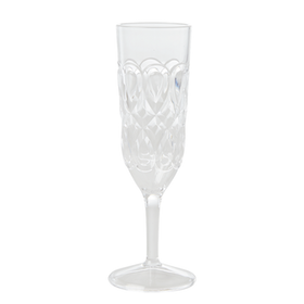 Rice Champagne Glas Swirly Clear i Akryl