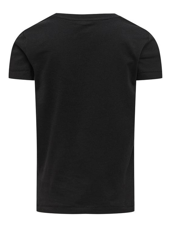 Trendig T-shirt i ekologisk bomull från KIDS ONLY med rund hals och ett tryck på fram. Material: 100% Ekologisk Bomull  Färg: Svart  Ekologisk Bomull odlas utan användning av skadliga bekämpningsmedel