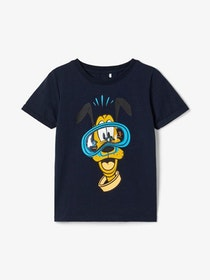 Name it Mini Pluto T-shirt Marinblå