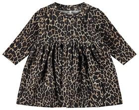 Name it Baby Leopardmönstrad Klänning i Ekologisk Bomull
