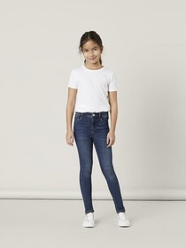 Name it Kids Skinny Fit Jeans Mörkblå Denim