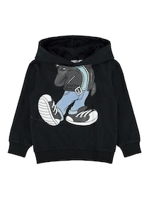 Name it Mini Musse Pigg Hoodie Svart