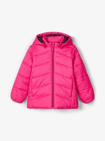 Name it Mini Quiltad Täckjacka Cerise