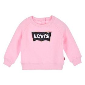 Levi´s Sweatshirt Med Logo Rosa