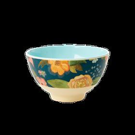 Rice Liten Skål i Melamin Selmas Fall Flower Print
