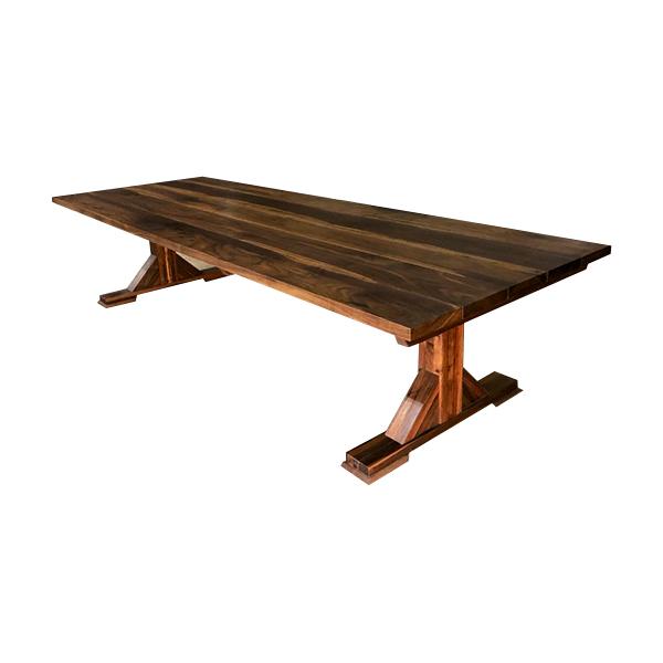 Plankbord i valnöt handgjort stort