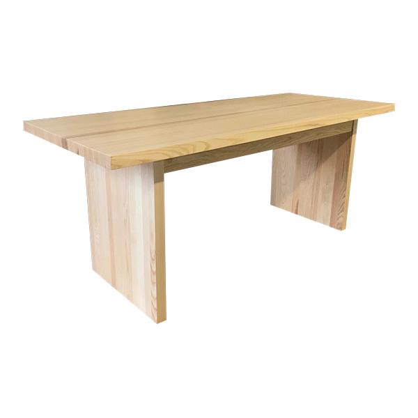 Matbord med hela gavlar