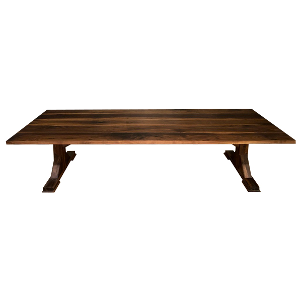 Plankbord utebord i trä