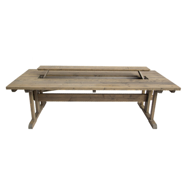 Utebord i trä, midsommarbord, utomhusbord