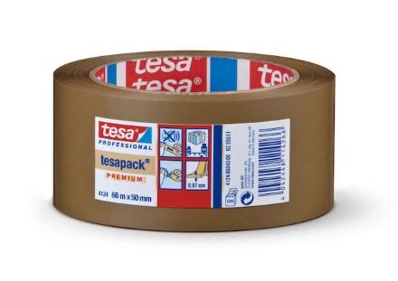 Packtejp Tesa 4124 PVC 38mmx66m